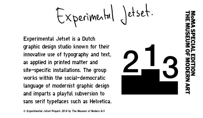 SPRZ NY Experimental Jetset Collection