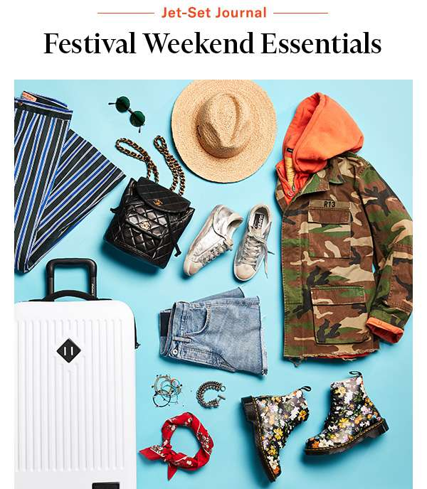 What to pack for 4 days of fun, sun, and music.