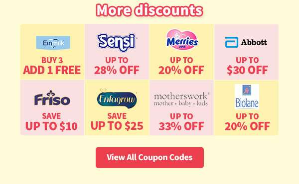 More discounts here! View all coupon codes here.