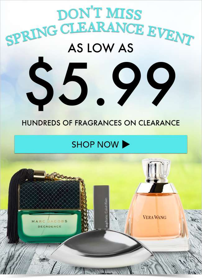 50% OFF Specials - Spring Clearance - Don't miss