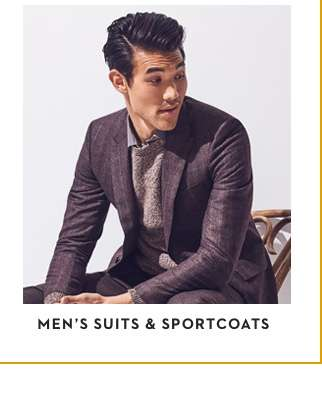 Men's Suits & Sportscoats