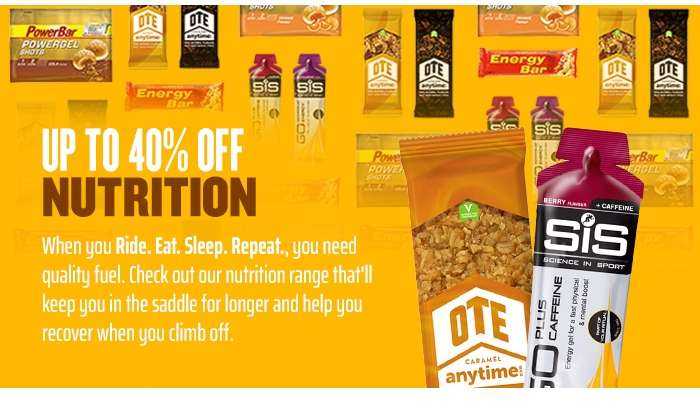 Up to 40% off NUTRITION