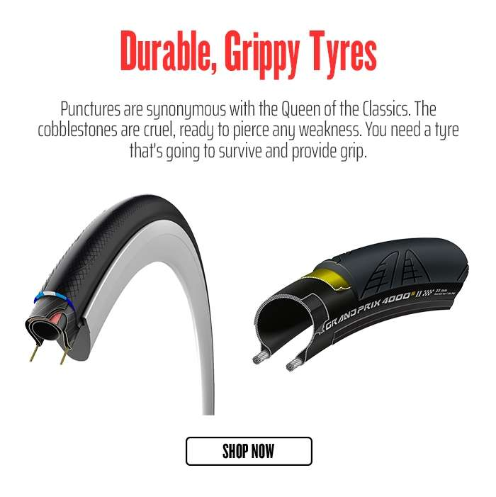 Durable, Grippy Tyres