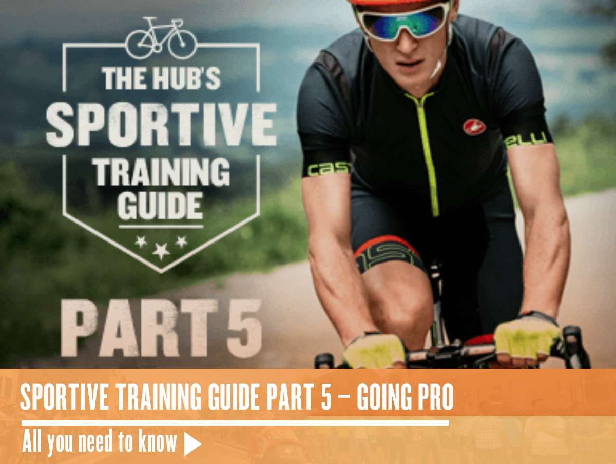 Sportive Training Guide Part 5 – Going Pro