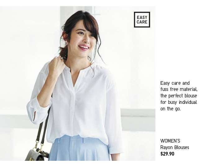 Women's Rayon Blouses at $29.90