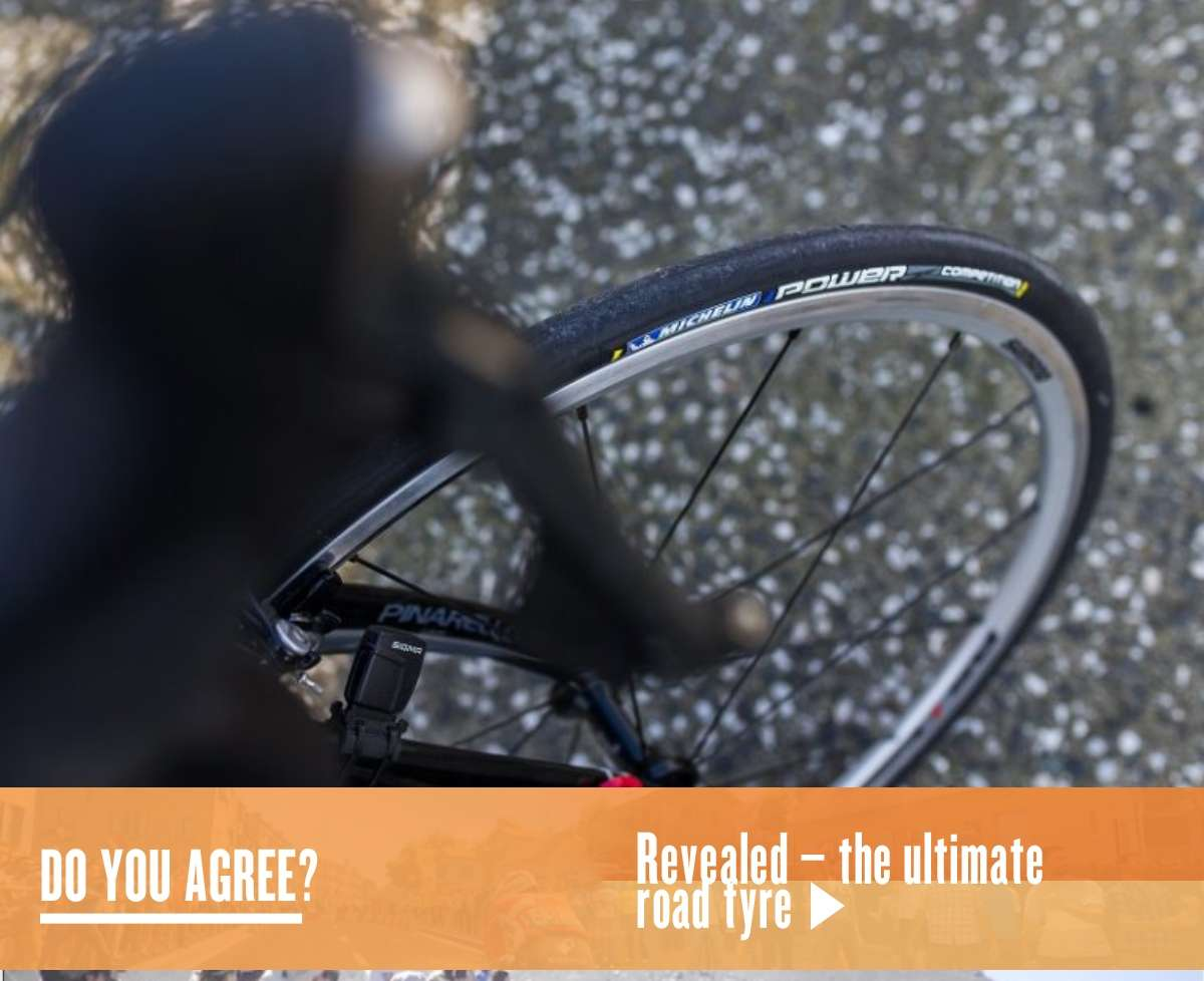 Revealed – the ultimate road tyre