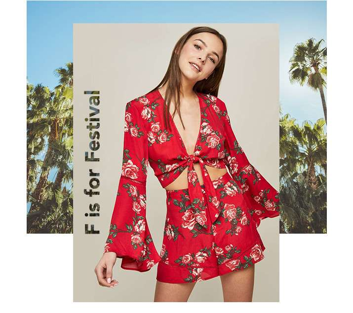 F Is For Festival - Shop Florals
