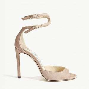 JIMMY CHOO Lane suede sandals