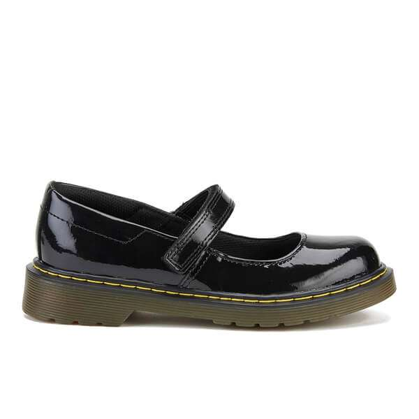 Dr. Martens Kids' Maccy Patent Lamper Mary Jane Shoes
