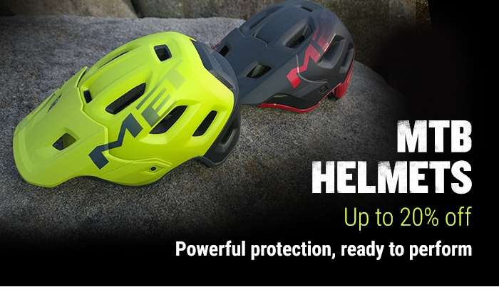 MTB Helmets Up to 20% Off