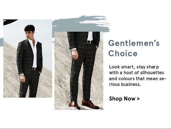 Gentlemen's Choice. Shop now.