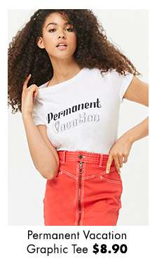 Permanent Vacation Graphic Tee