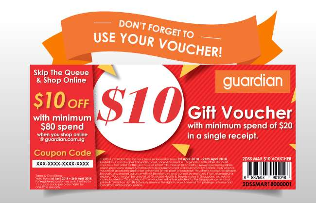 Don't forget to use your GSS voucher!