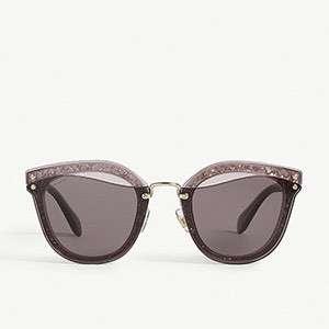 MIU MIU - Glitter sunglasses