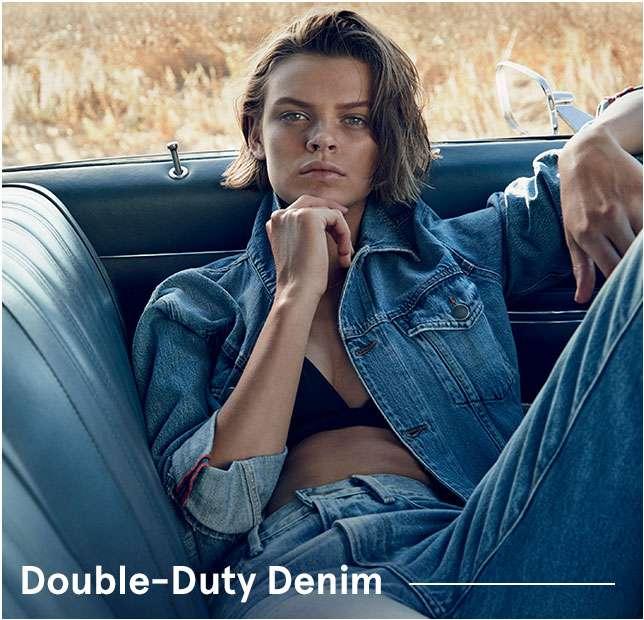 Double-Duty Denim