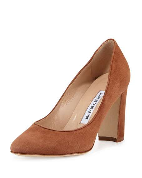 Tuccio Suede 90mm Pump