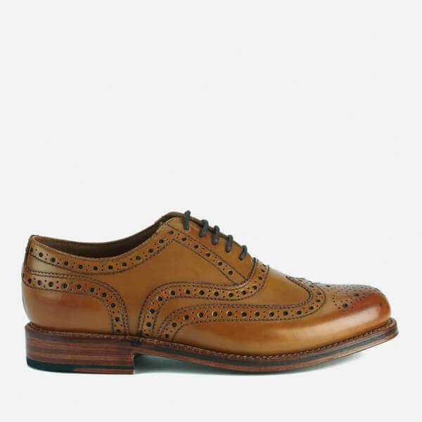 Grenson Men's Stanley Leather Brogues