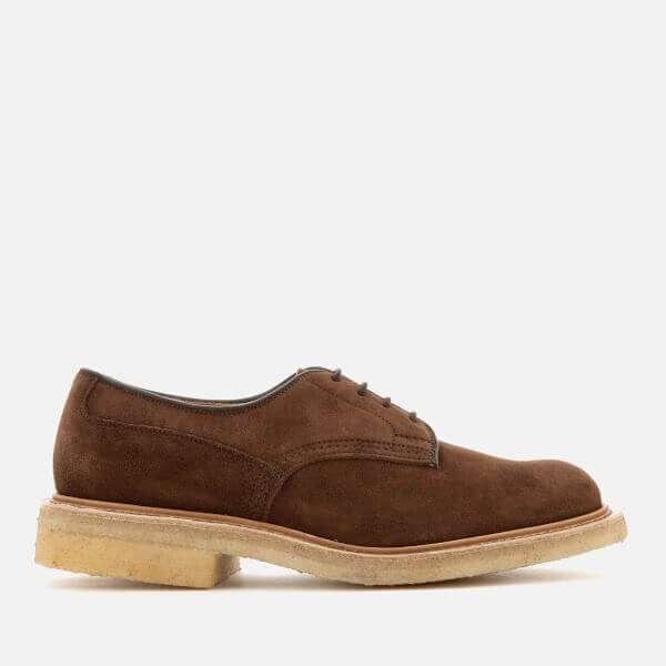 Tricker's Men's Woodstock Suede Derby Shoes