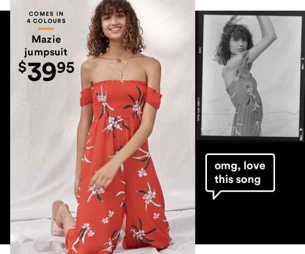 Mazie jumpsuit | Shop Now