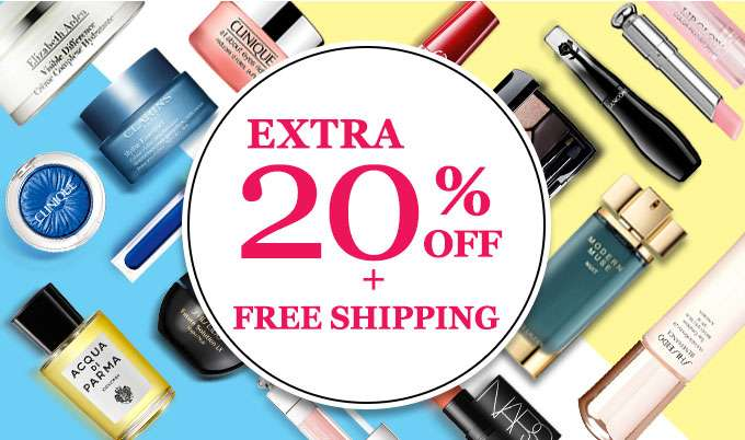 Get Extra 20% Off + Free Int'l Shipping! Offer Ends 09 Dec 2018.