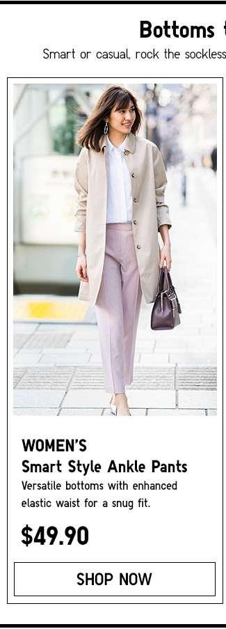 Shop Women's Smart Style Ankle Pants