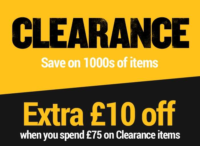 Save extra on clearance