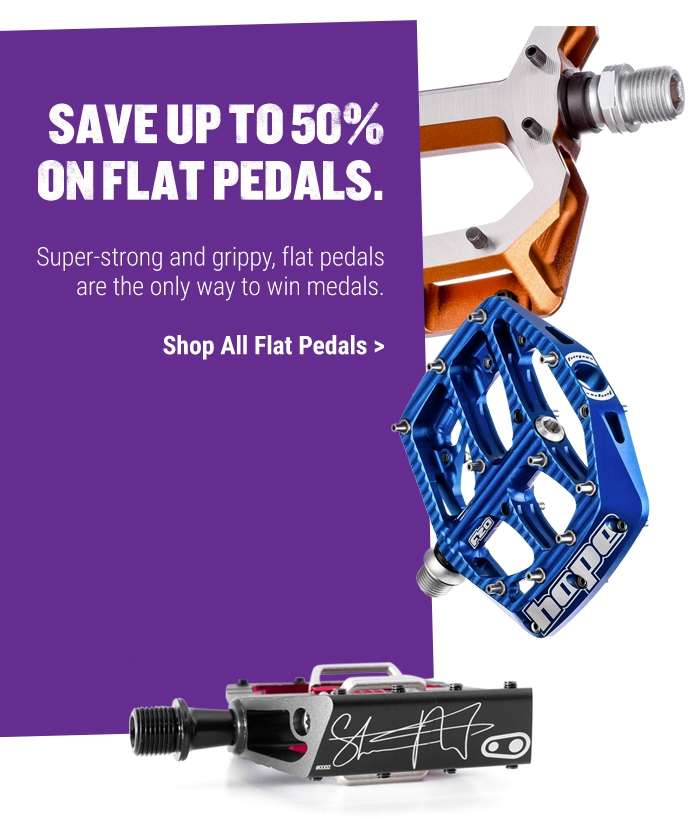 Shop All Flat Pedals