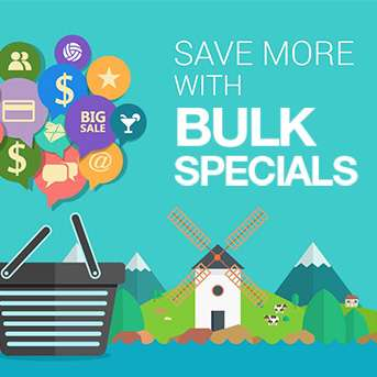 Save More with Bulk Specials
