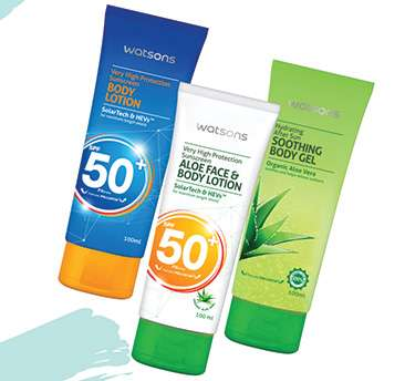 Sunscreen Range