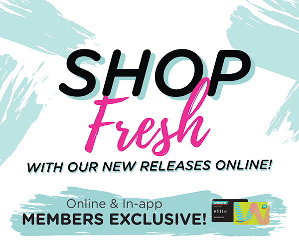 shop fresh with our new releases online