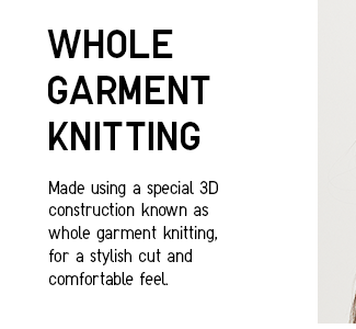 Whole Garment Knitting Technology, 3D Knitting.