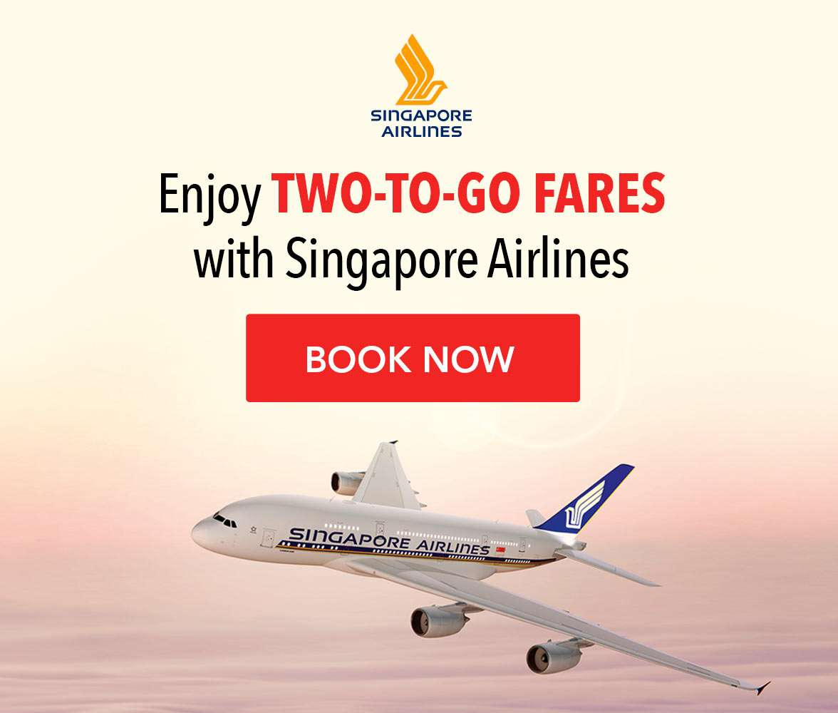 Two-to-go flight offers from Singapore Airlines