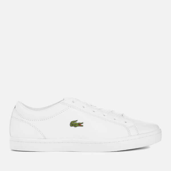 Lacoste Women's Straightset Bl 1 Leather Court Trainers