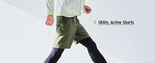 Men's Utility Active Shorts