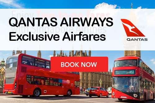 Hop on Qantas Airways SALE to selected destinations now!