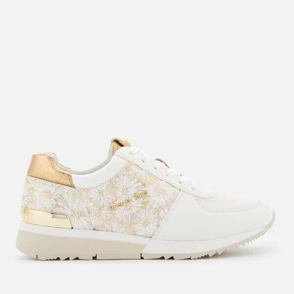 MICHAEL MICHAEL KORS Women's Allie Metallic Flower Trainers