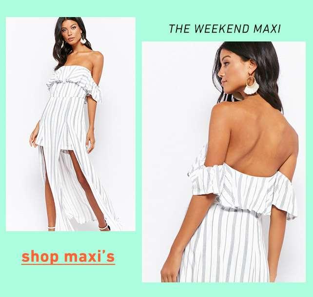 The Weekend Maxi - Shop Maxis