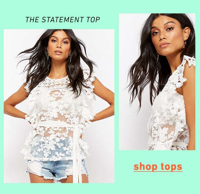 The statement top - Shop Tops