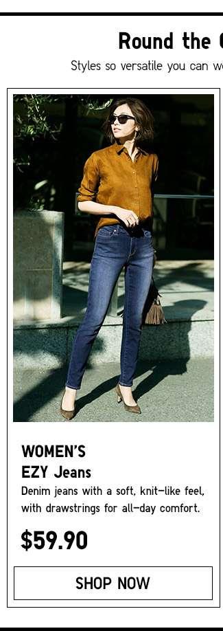 Shop Women's EZY Jeans