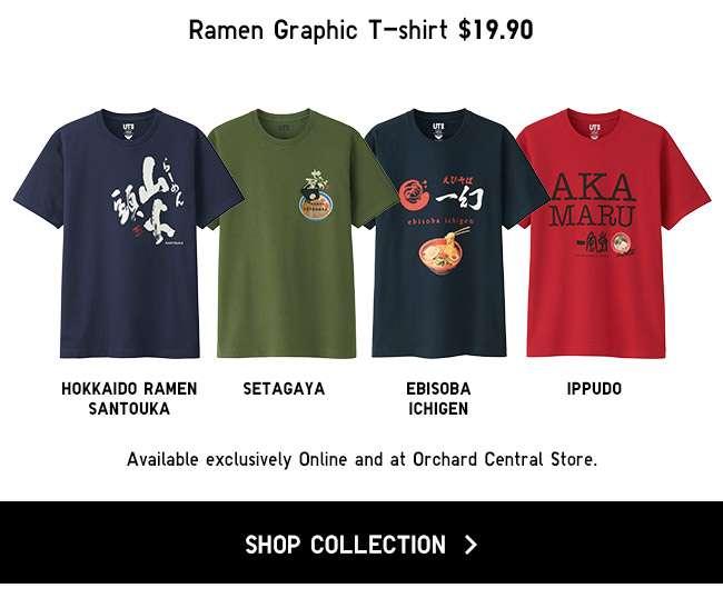 Shop the new Ramen UT Collection