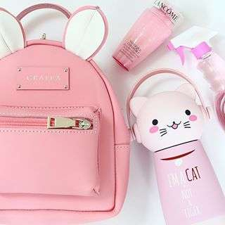 It's a  pink little mouse ðŸ­ðŸ­ðŸŒ¸ðŸŽ€ #grafea #mouse Zippy