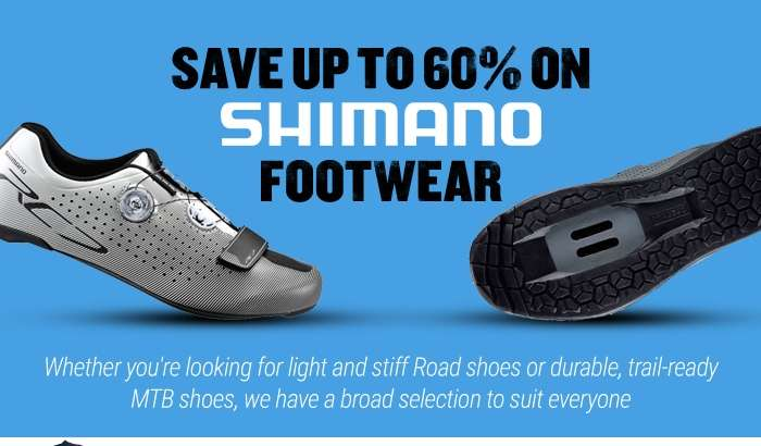 Save up to 60% on Shimano Footwear