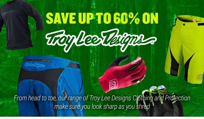 Save up to 60% on Troy Lee Designs