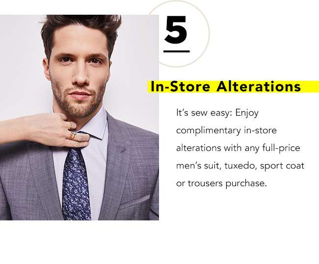 IN-STORE ALTERATIONS