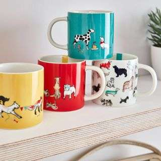 If your pooch doesn't win a trophy, at least you take home a cup #Joules #JoulesHomeware #Crufts #Crufts2018 #DogMugs