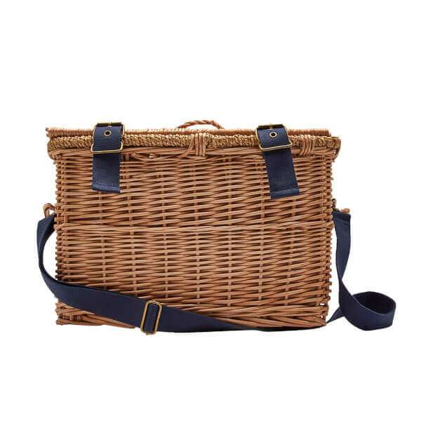 Wicker Basket Four Person Picnic Set
