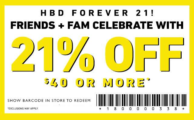 Use this Barcode In-Stores to gert your discount!