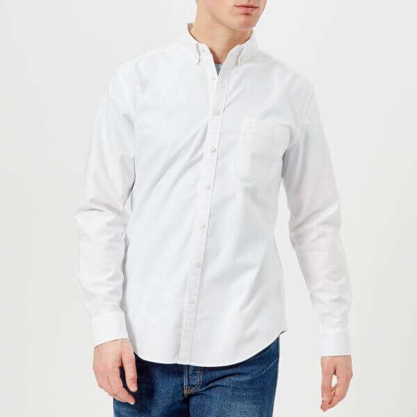 Laundered Oxford Long Sleeve Shirt