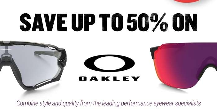 Save up to 50% On Oakley Eyewear