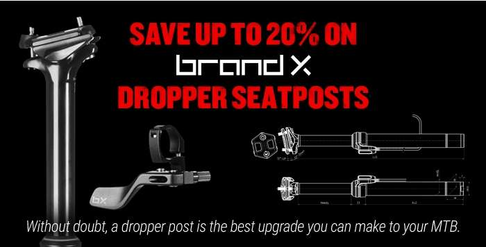 Save up to 20% on Brand-X Dropper Seatposts